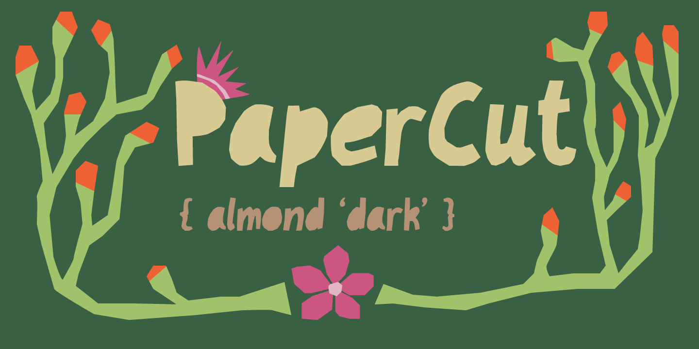 PaperCut 'Almond Dark'
